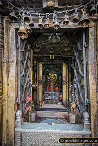 Ornate temples abound in the side streets
