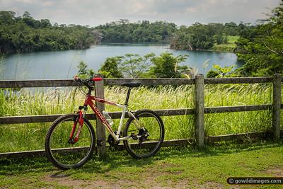 Hire Trek bike and  Ketam Quarry in the Ketam Mountain Bike Park