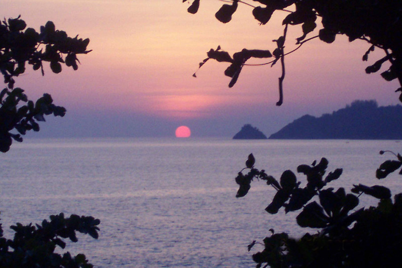 Sunset in Phuket, Thailand