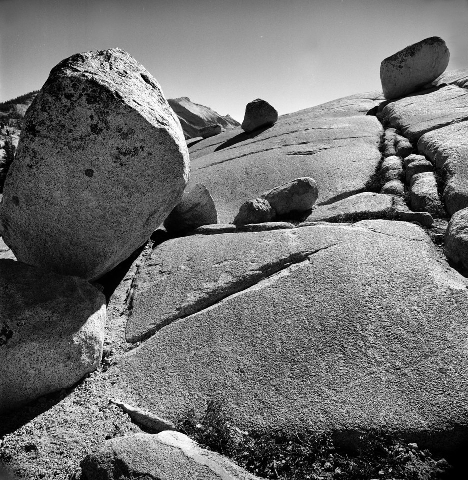 Glacier Rocks Yosemite National Park, 2012