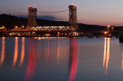 Lift Bridge sunrise