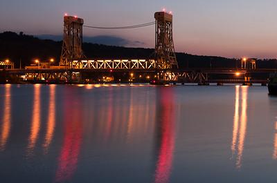 Lift Bridge sunrise