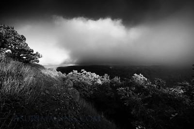 Fog approaches Brockway