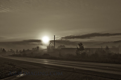 Industrial morning