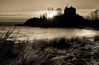Mqt. Lighthouse at dawn