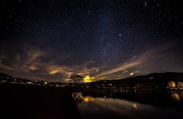 Stary Night in the Tehachapi's