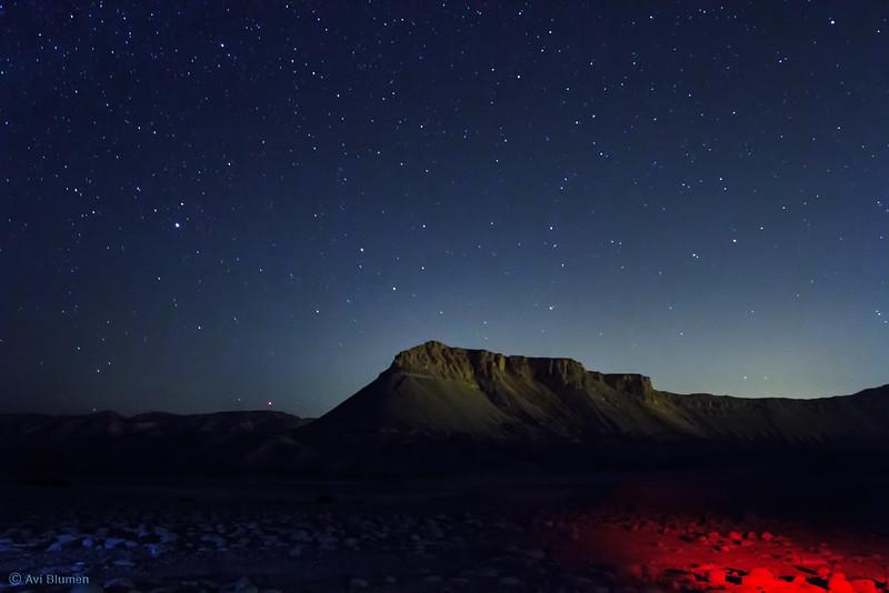 Muont Zin star night