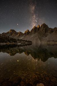 Cosmic moment of solitude