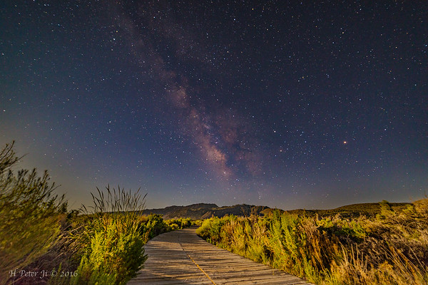 Boardwalk to the Milky Way