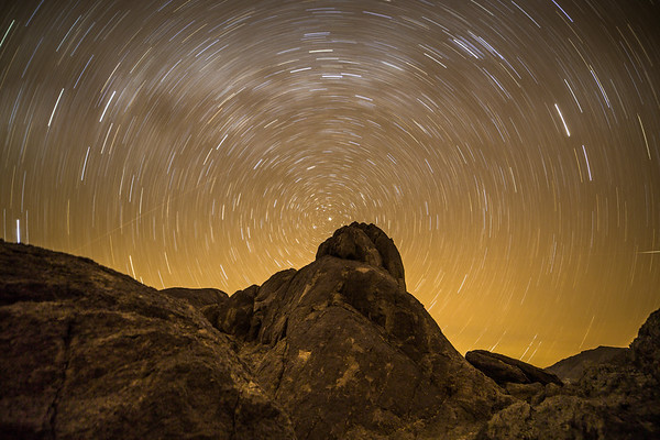 Wondered about star trails seen from Mars