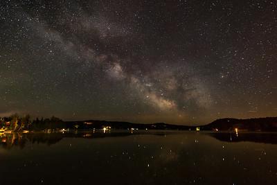 Back Lake Milky Way