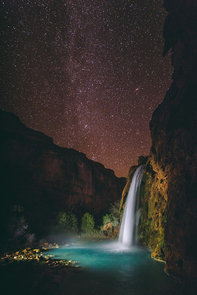 What Havasupai people saw in fall night sky