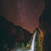 What Havasupai people saw in fall night sky