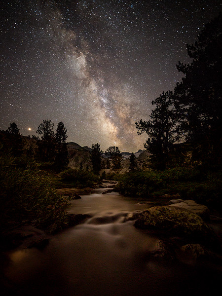 First night on John Muir Trail