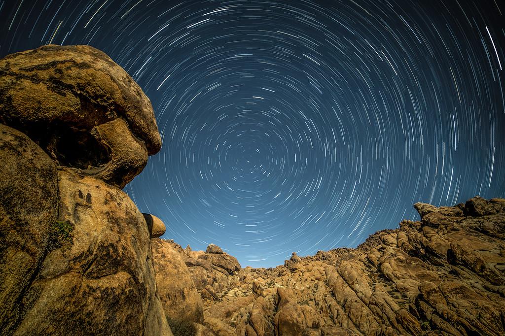 Circling around North Star