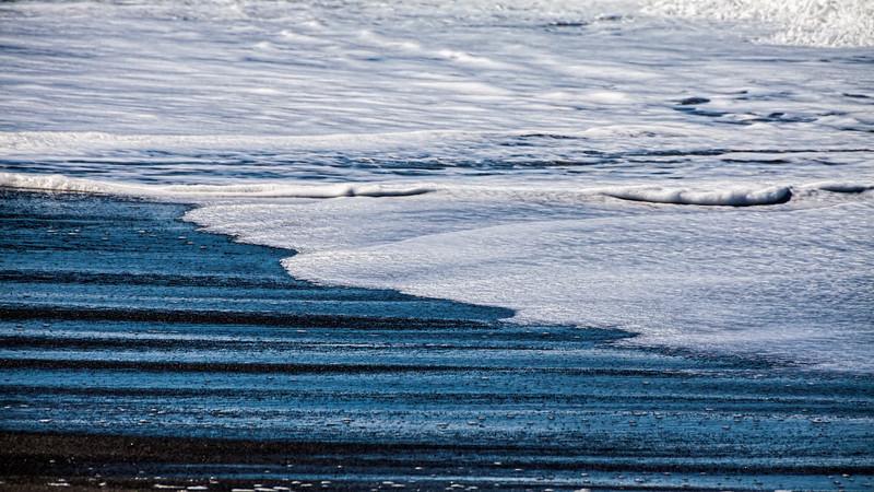"""Beach abstract.  """"Blue Sand"""""""