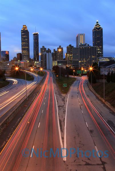 Into Atlanta