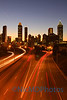 Sunset Atlanta Skyline