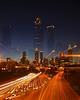 Atlanta Skyline Zoom burst 2