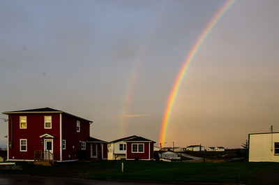 Double Rainbow, Grand Bank Newfoundland