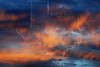 Turbulent Clouds, Sunset,<br /> Sugar Land, Texas