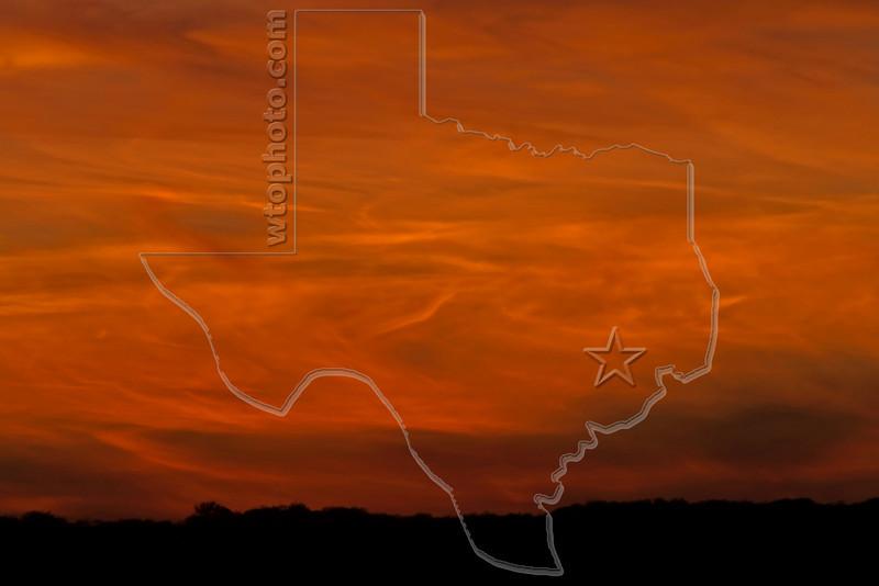 Turbulent Cloud Sunset,<br /> Nordheim, Texas