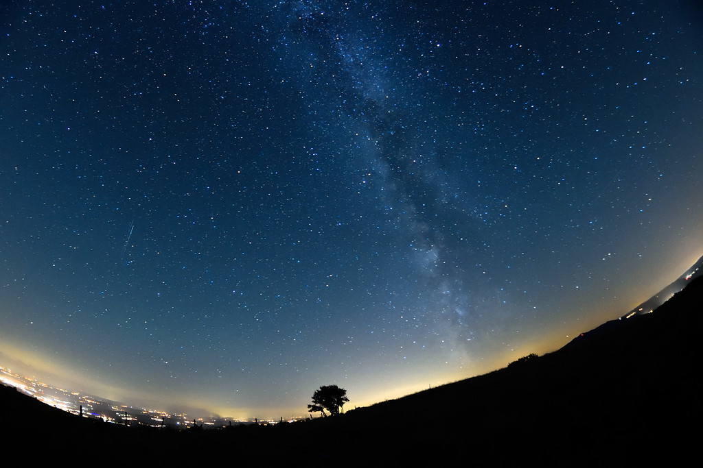 Milky Way on Jul. 9 2016, Switzerland
