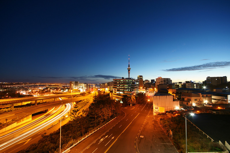Auckland morning.