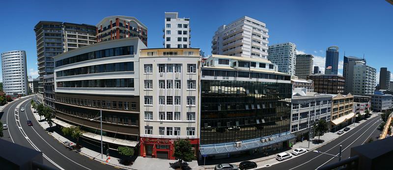Anzac Avenue, Auckland Pano