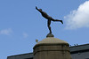 "Auckland Domain entrance statue, ""The Athlete""."