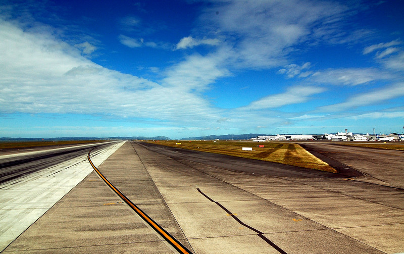 Auckland Airport Take-off