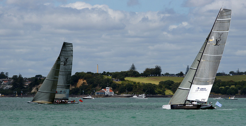 America's Cup Yachts, Waitemata Harbour