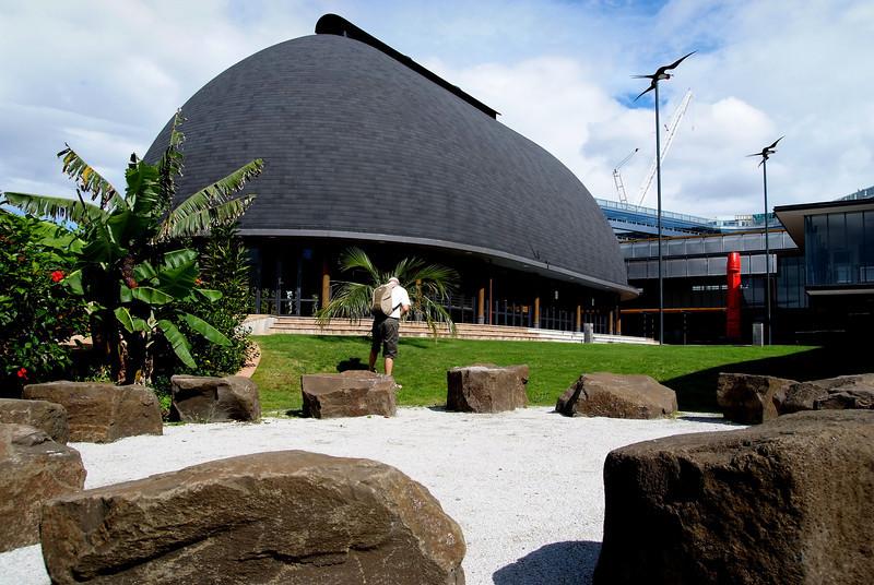 Fale Pasifika, Auckland University.