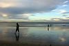 Milford Beach Evening