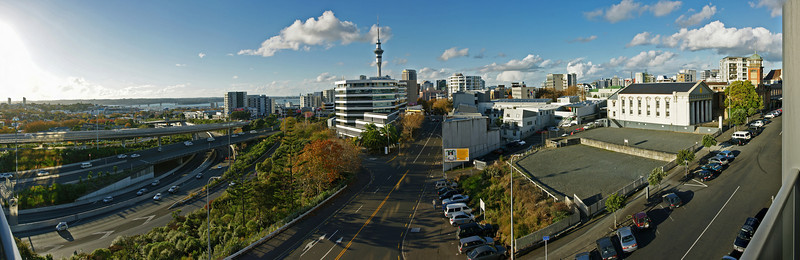 Auckland apartment 180 Pano.