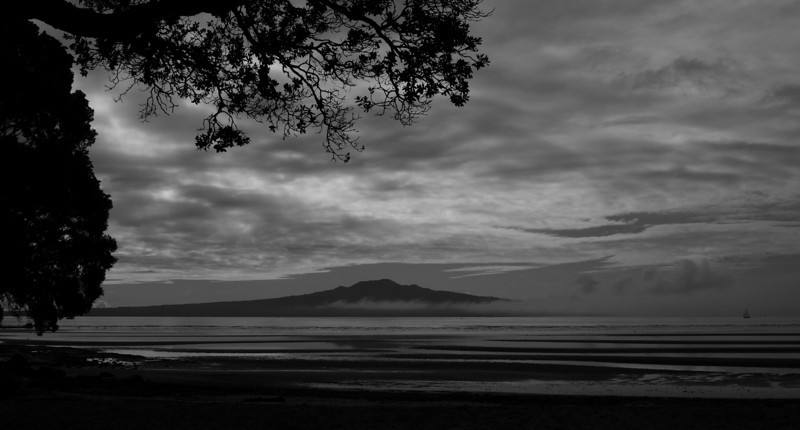 Rangitoto...out of the mist