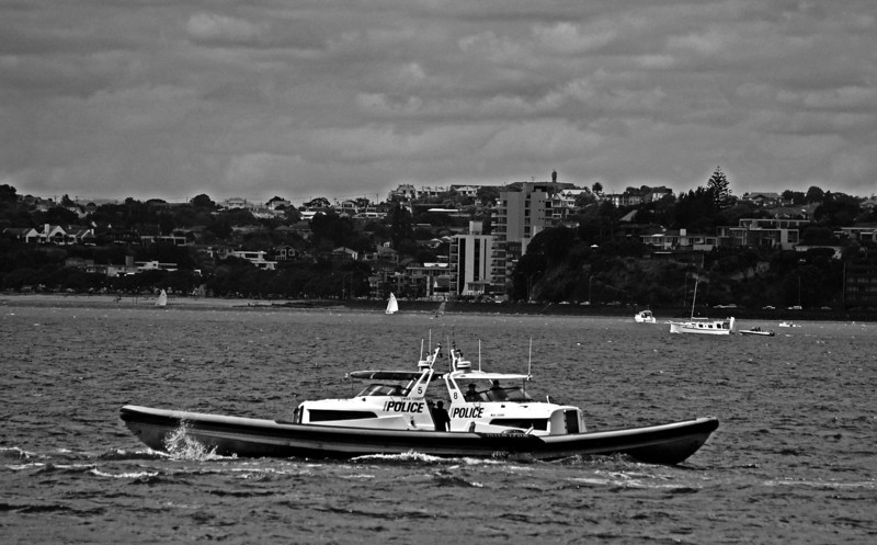 Police Conference, Waitemata Harbour