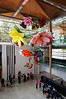 Flower Chandelier (2) by Choi Jeong Hwa, Auckland Art Gallery.