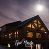 13  Chandalar Lodge and Moon