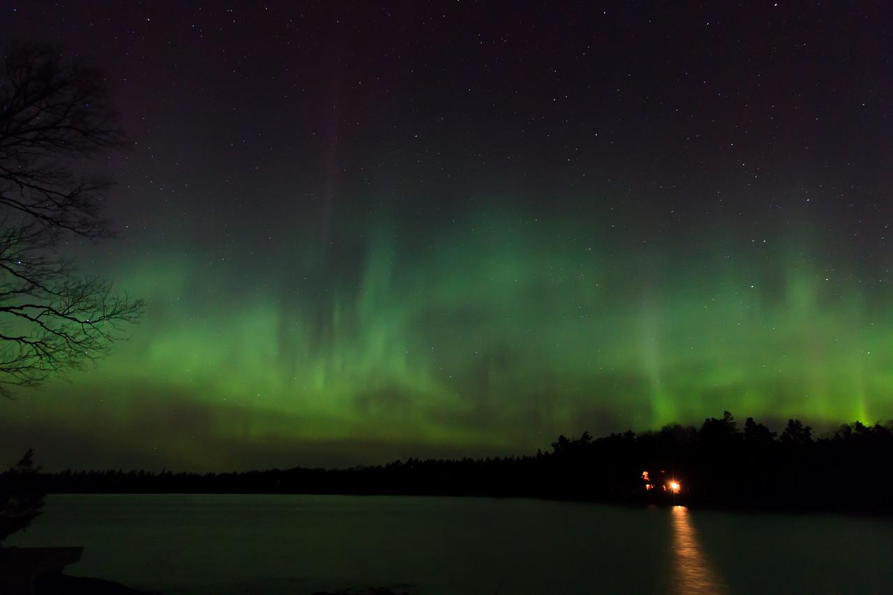 Aurora Borealis over Copper Harbor