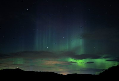 Northern Lights from Cornet Bay Whidbey Island