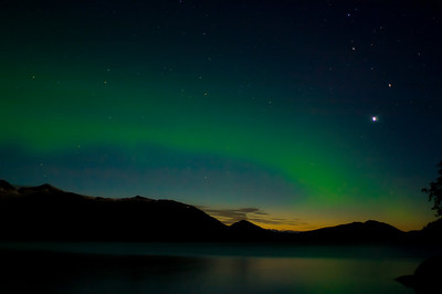AURORA BOREALIS Prince William Sound