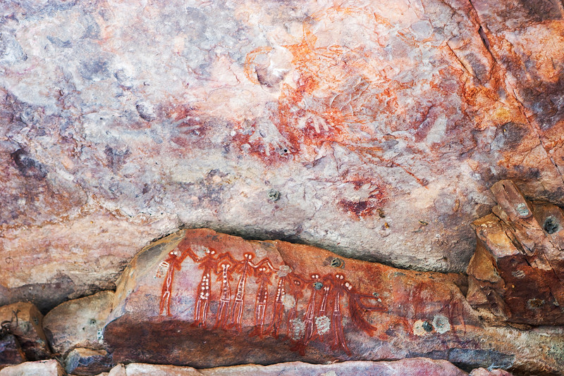 Cave paintings, Arnhem Land