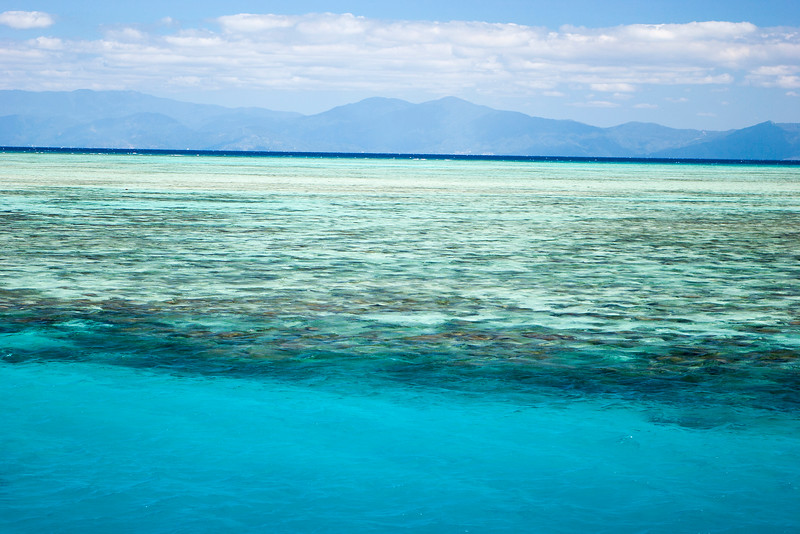 Upolu reef in the Great Barrier Reef World Heritage Area