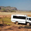 Tour bus for the Arnhem Land