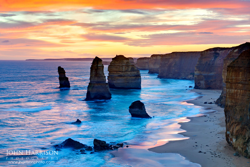 """12 Apostles at Sunset"""