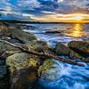 """Royal National Park in Australia at Sunset"" near Sydney Australia, New South Wales"