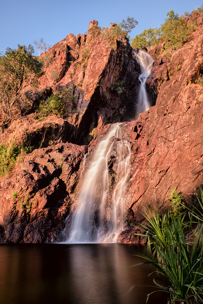 Rusty Red Waterfall