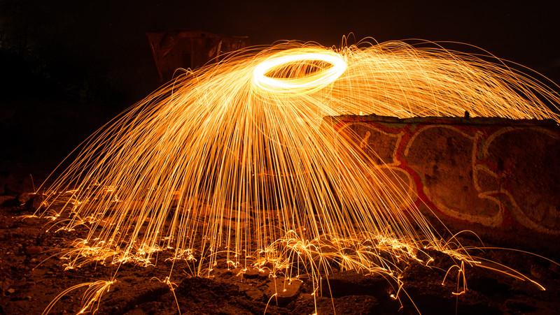 Graffiti on Fire
