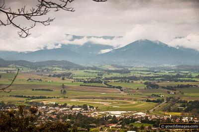 Yarra Glen, Warramate Hills and the Yarra Ranges